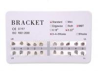 Брекет Система Standart, MBT, 0.22, 3-4-5 Hooks