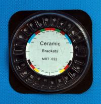Брекет система, Ceramic, MBT, 0.22, 3-4-5 Hooks