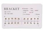 Брекет Система Standart, MBT, 0.22, no Hooks