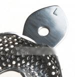 Набор ложек S,M,L металлические оттискные, 6 шт.