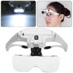 Увеличительные очки с LED подсветкой